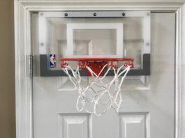 Spalding NBA Slam Jam Over the Door Mini Basketball Hoop