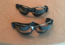 basketball dribbling glasses